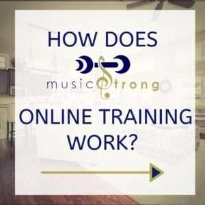 online training poster