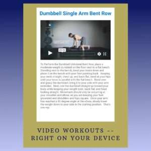 an instruction on how to do dumbell single arm bent row