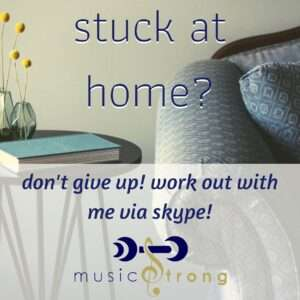 stuck at home poster