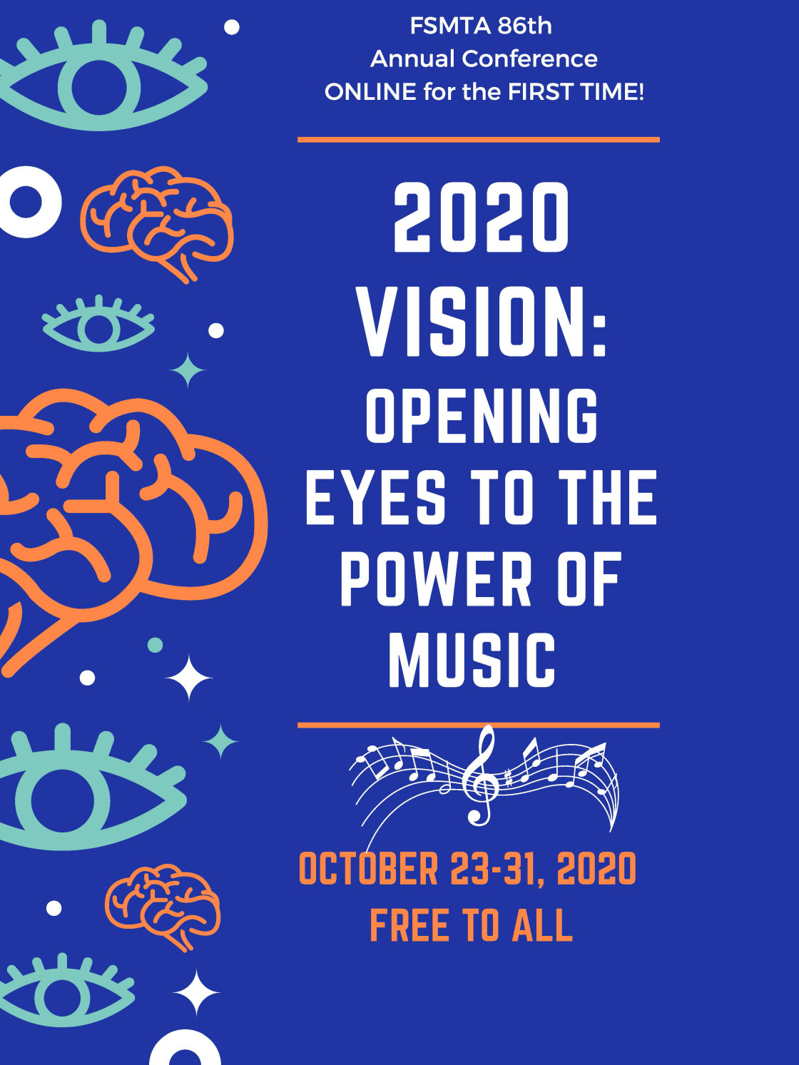 opening eyes to the power of music poster