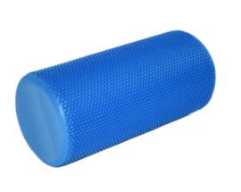 blue colored foam rollers