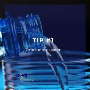 TIP # 1 Drink more water cover image