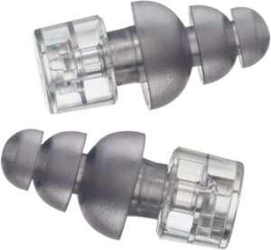 close up image of earplugs