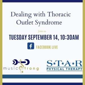 Facebook Live with Musicians Physical Therapist Sandy Murphy
